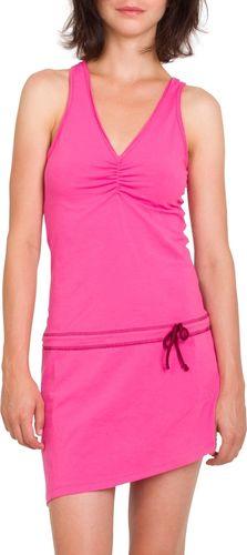 Woox Dziewczęca Sukienka Sportowa Różowa La Flecha Dress Salmon 42 8595564757436