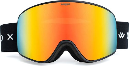 Woox Gogle Ski/Snb Opticus Temporarius czarno-pomarańczowe r. uniwersalny