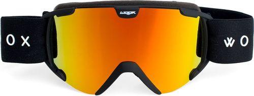 Woox Gogle Ski/Snb Opticus Pusilli czarno-pomarańczowe r. uniwersalny