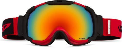 Woox Gogle Ski/Snb Opticus czerwono-czarne r. uniwersalny