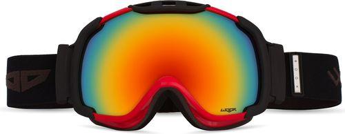 Woox Gogle Ski/Snb Opticus Dictatus czarno-czerwone r. uniwersalny