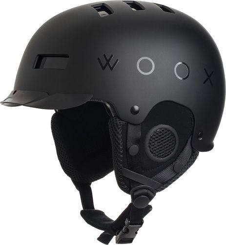 Woox Kask narciarski / snowboardowy z regulacją   Czarny Brainsaver Preto -  M - M - 8595564777380