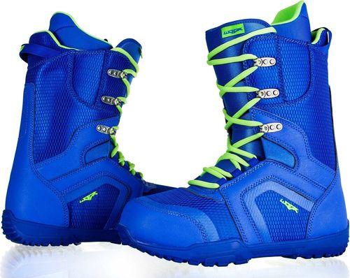 Woox Buty snowboardowe Fairair niebiesko-zielone r. 45