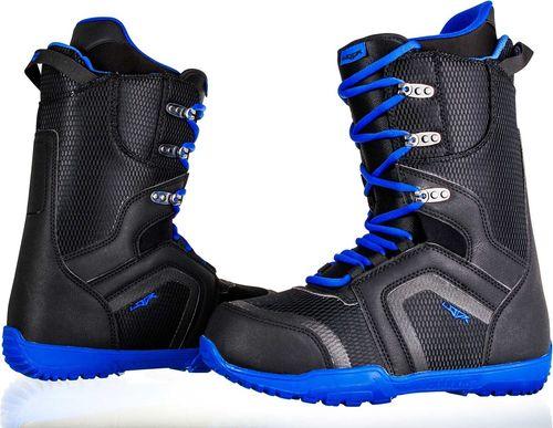 Woox Buty snowboardowe Fairair czarno-niebieskie r. 40