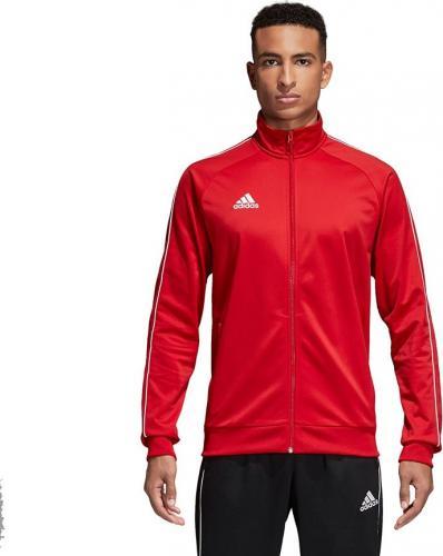 Adidas Bluza piłkarska Core 18 czerwona r. S (CV3565)