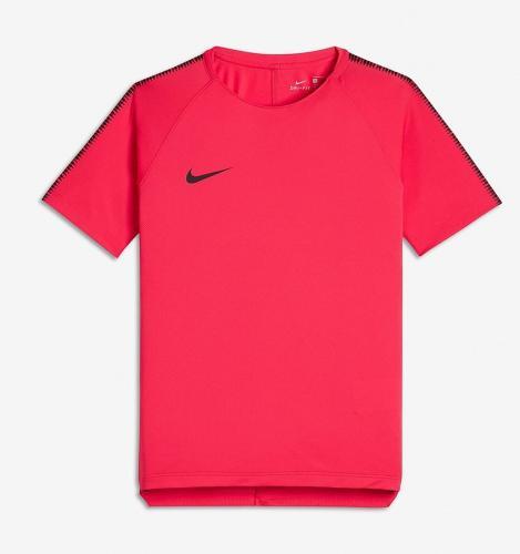 Nike Koszulka piłkarska Dry Squad Top Junior czerwona r. M (137-147cm) ( 859877-653)