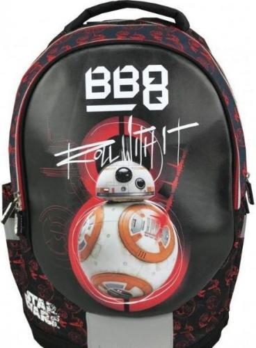35287ce35b90b Eurocom Plecak ergonomiczny Star Wars BB-8 czarno-czerwony (284511 ...