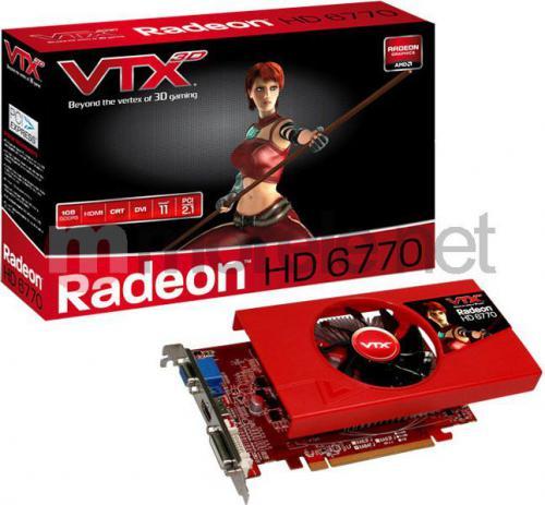 Karta graficzna TUL VTX3D Radeon HD6770 1GB  (471250502-8729)