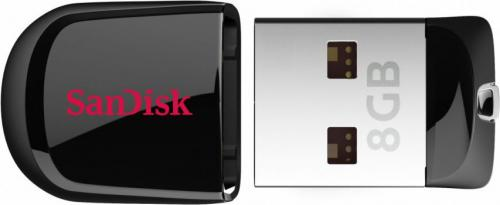 Pendrive SanDisk Cruzer Fit 8GB USB 2.0 (SDCZ33-008G-B35)