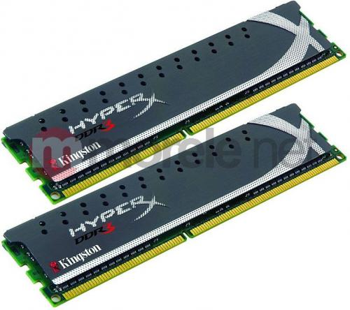 Pamięć HyperX 2x4GB 1600MHz DDR3 Non-ECC CL9 Intel XMP X2 Grey Series (KHX1600C9D3X2K2/8GX)