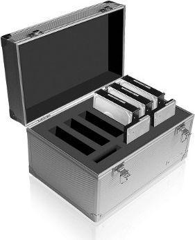 Etui RaidSonic Icy Box Walizka aluminiowa na dyski 6x3,5'' + 3x2,5'' HDD (IB-AC626)