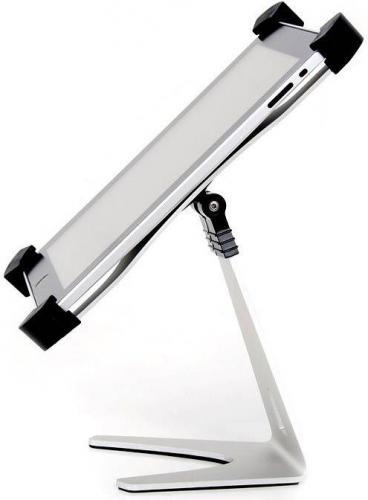 Stojak 4World iPad Grip X101 - srebrny (07726)