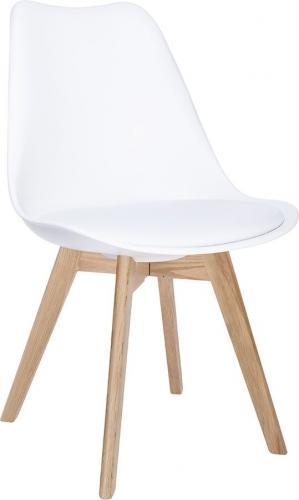 King Home Krzesło Nordic Premium białe