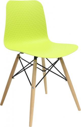 King Home Krzesło Krado DSW Premium zielone