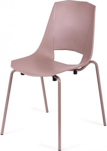 King Home Krzesło Evva brązowe