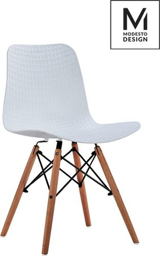 Modesto Design Krzesło Krado Wood białe