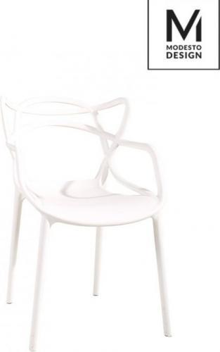 Modesto Design krzesło Hilo białe