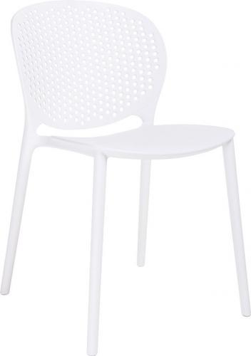 King Home Krzesło Vento białe