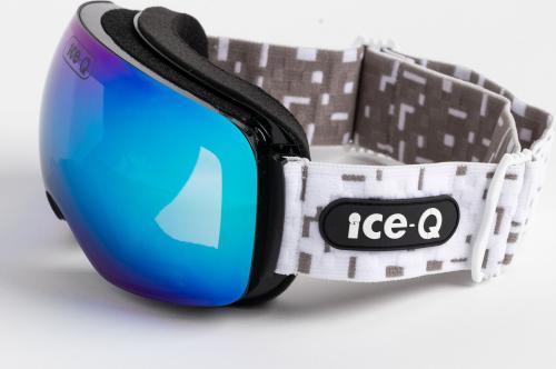 Ice-Q Gogle narciarskie Chamonix Full REVO białe