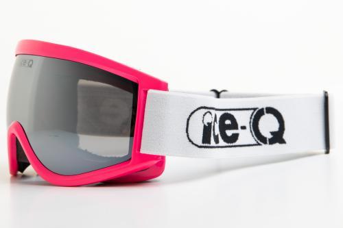 Ice-Q gogle narciarskie Istebna 2 neonowy róż