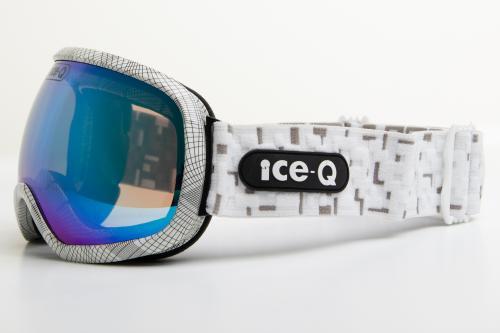 Ice-Q Gogle narciarskie Marilleva 1 białe