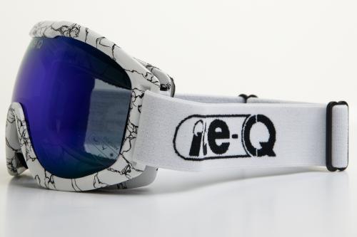 Ice-Q gogle narciarskie Małe Ciche białe
