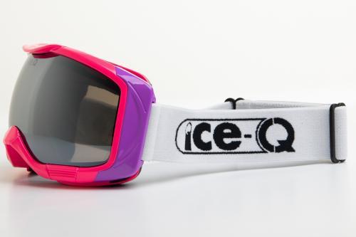 Ice-Q gogle narciarskie Szklarska 1 różowo-fioletowe