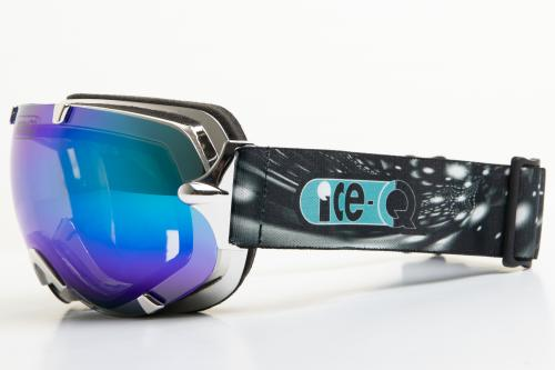 Ice-Q gogle narciarskie Szrenica 2 srebrzysto-metalowy