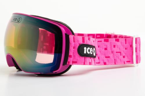 Ice-Q Gogle narciarskie Tonale 3 różowe