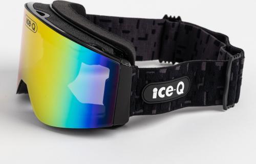 Ice-Q Gogle narciarskie Val di Sole 1 czarne