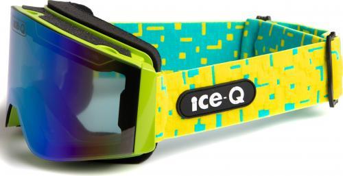 Ice-Q gogle narciarskie Val di Sole 2 jabłkowa zieleń