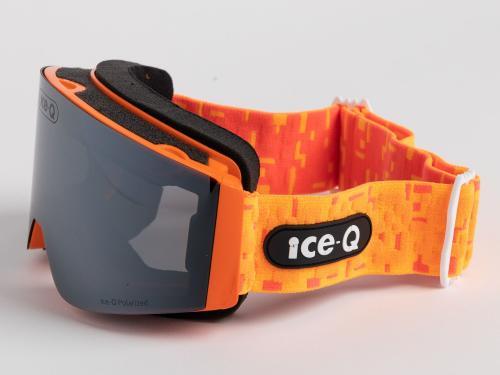 Ice-Q Gogle narciarskie Val di Sole Polarized pomarańczowe