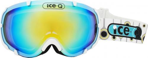 Ice-Q gogle narciarskie Zermatt 3 biały połysk