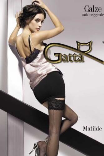 GATTA Pończochy Matilde nero r. 3-4/M-L