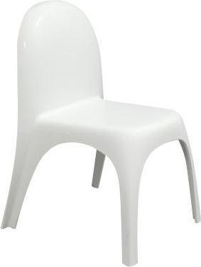 King Home Krzesło Baloon białe