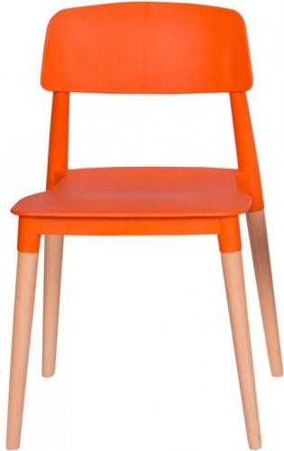 King Home Krzesło ECCO PREMIUM pomarańczowe