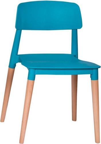 King Home Krzesło ECCO PREMIUM turkusowe