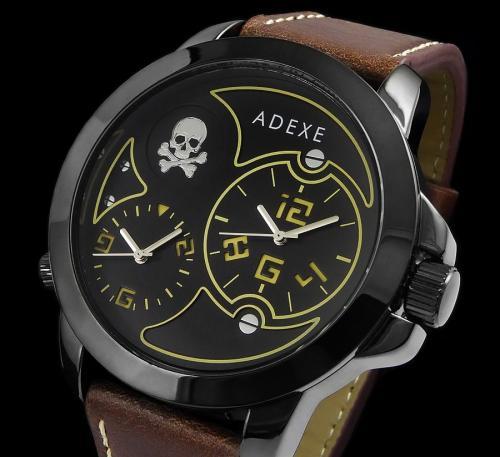 Zegarek Adexe Męski Dual Time X III