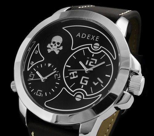 Zegarek Adexe Męski Dual Time X II