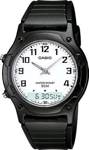 Zegarek Casio Furen Dual Time (AW-49H -7BVEF)