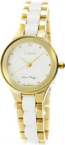 Zegarek Gino Rossi damski Kostini złoto-biały (11041B-3D1)