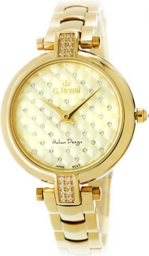 Zegarek Gino Rossi damski Bresi złoty (11024B-4D1)