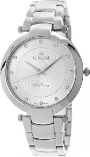 Zegarek Gino Rossi damski Diria srebrny (11382-3C1)