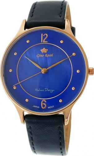 Zegarek Gino Rossi damski Gretina II czarny (10317A-6F3)
