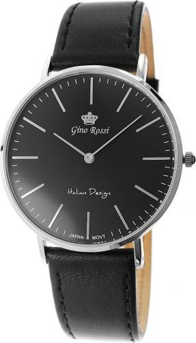 Zegarek Gino Rossi męski Blend Slim czarny (11014A-1A1)