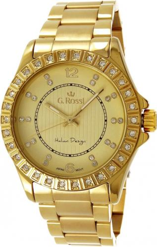 Zegarek Gino Rossi damski Brenda złoty (10294A-4D1)