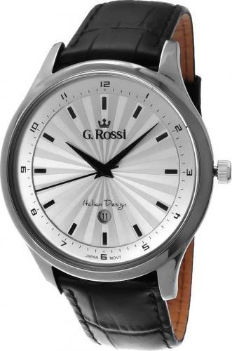 Zegarek Gino Rossi męski Topmen czarny (10212A-3A1)