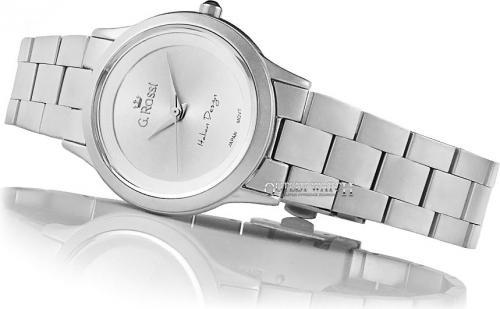 Zegarek Gino Rossi damski Debra srebrny (10777E-3C1)