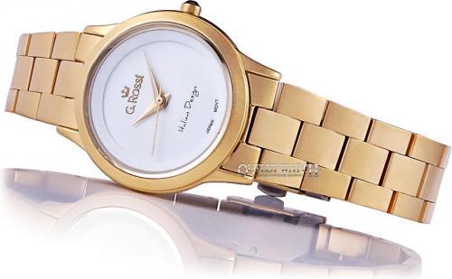Zegarek Gino Rossi damski Debra złoty (10777E-3D1)