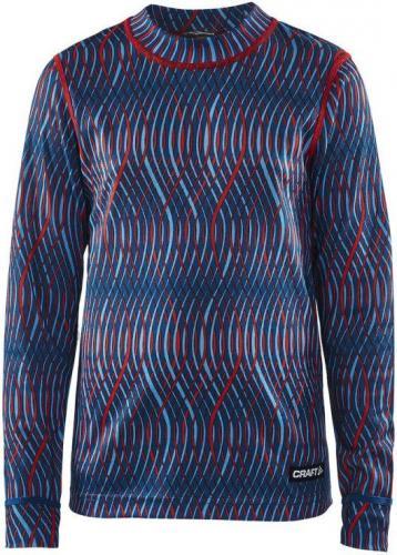 Craft Koszulka dziecięca Mix&Match Jr granatowo-czerwona r. 146-152 (1904518-3117)